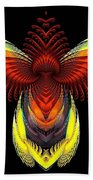 Outstreched Wings Beach Towel