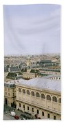 Looking Over Paris Beach Towel