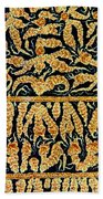 Oxidized Vitamin C Beach Towel