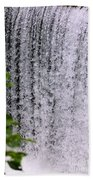 Ozark Waterfall Beach Towel