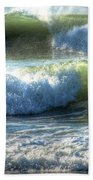Pacific Waves Beach Towel