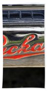 Packard Name Plate Beach Towel