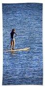 Paddle Boarding Beach Towel