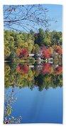 Paint Lake  Muskoka Canada Beach Towel