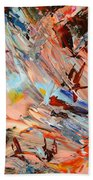 Paint Number 36 Beach Towel