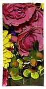 Painted Bouquet Beach Towel