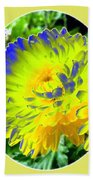 Painted Chrysanthemums Beach Towel