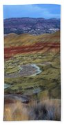 Painted Hills At Dusk Beach Towel