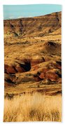 Painted Hills In Sheep Rock Beach Towel