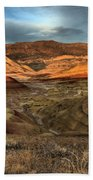 Painted Hills In The Fossil Beds Beach Towel