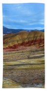 Painted Sky Over Painted Hills Beach Towel