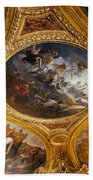Palace Of Versailles Ceiling Beach Towel