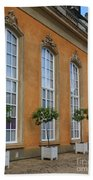 Palace Windows And Topiaries Beach Towel