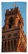 Palazzo Vecchio In Florence  Beach Towel