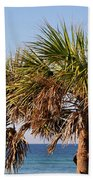 Palm Trees Beach Towel by Sandy Keeton