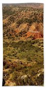 Palo Duro Canyon Texas Beach Towel