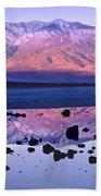 Panamint Range Reflected In Standing Beach Towel