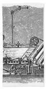 Paper Machine, C1880 Beach Towel