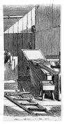 Papermaking, 1833 Beach Towel