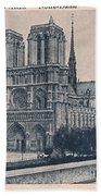 Paris - Notre Dame Beach Towel