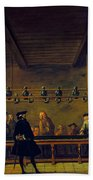 Paris: Billiards, 1725 Beach Towel