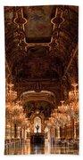 Paris Opera House Vi Beach Towel