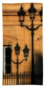 Paris Shadows Beach Towel