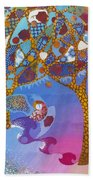 Park Guell. General Impression. Beach Towel