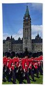 Parliament Building Ottawa Canada  Beach Sheet
