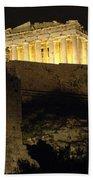 Parthenon Athens Beach Towel