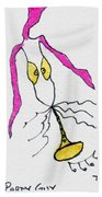 Party Guy Beach Towel