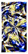 Party Time Abstract Beach Towel