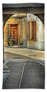 Passageway And Arch In Provence Beach Towel