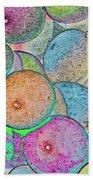 Pastal Art Beach Towel