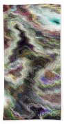 Pastel Art Beach Towel