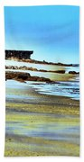 Pastel Beach Beach Towel