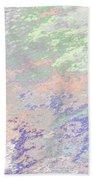 Pastel Stone Beach Towel