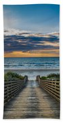 Path Of Peace Beach Towel
