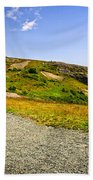 Path To Cabot Tower On Signal Hill Beach Towel by Elena Elisseeva