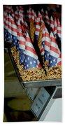 Patriotic Treats Virginia City Nevada Beach Towel by LeeAnn McLaneGoetz McLaneGoetzStudioLLCcom