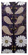 Patterns Of The Past Beach Towel