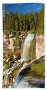 Pauina Falls Overlook Beach Towel