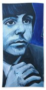 Paul Mccartney Beach Towel