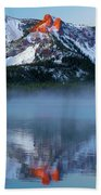 Paulina Peak Reflections Beach Towel