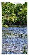 Peaceful River Beach Towel