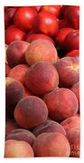 Peaches And Nectarines Beach Towel
