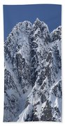 Peaks Of Takhinsha Mountains Beach Towel