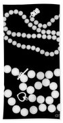 Pearl Strands Beach Towel