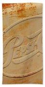Pepsi Cola Remembered Beach Towel