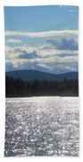 Perfect Day On The Lake Beach Towel
